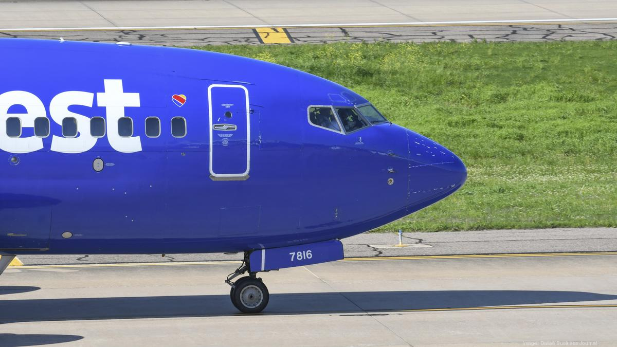 Southwest Airlines Slashes Capacity By Nearly 50 Percent In June Dallas Business Journal,Tall Plant With Purple Flowers And Green Leaves