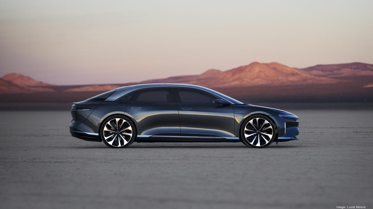Report: Lucid Motors plan to go public could be announced as early as Tuesday - Silicon Valley Business Journal