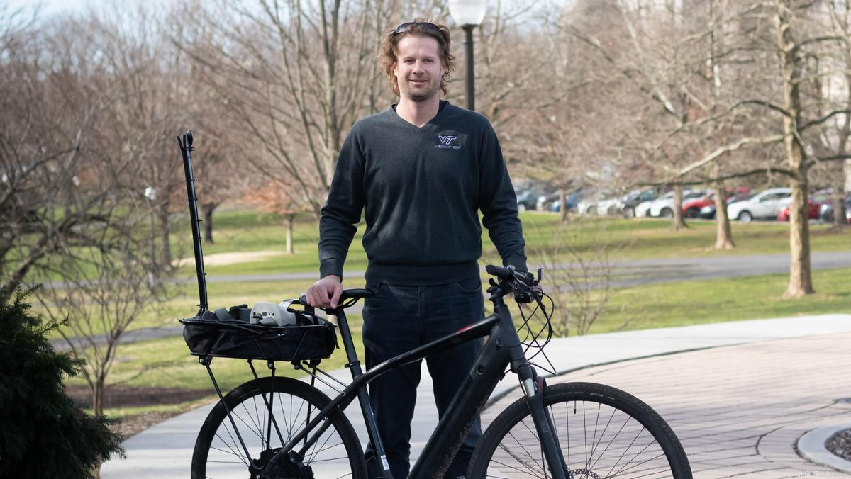 Meet Steve Hankey, the Virginia Tech professor measure air pollution by bicycle - Washington Business Journal