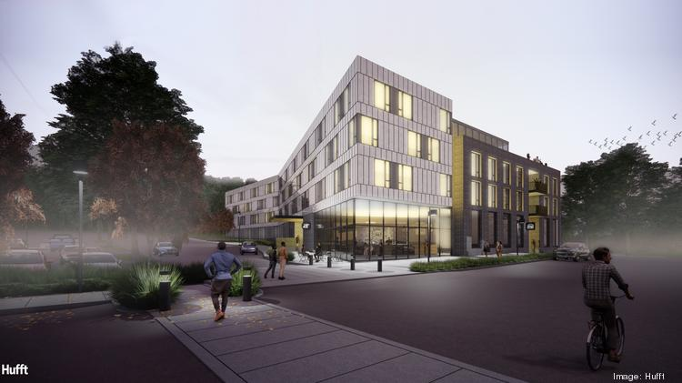 Rochester on Blue Parkway will offer 64 market-rate apartments.