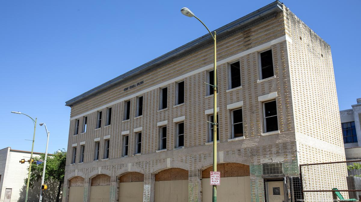 Henry Terrell Building renovation seeks design approval - San Antonio Business Journal