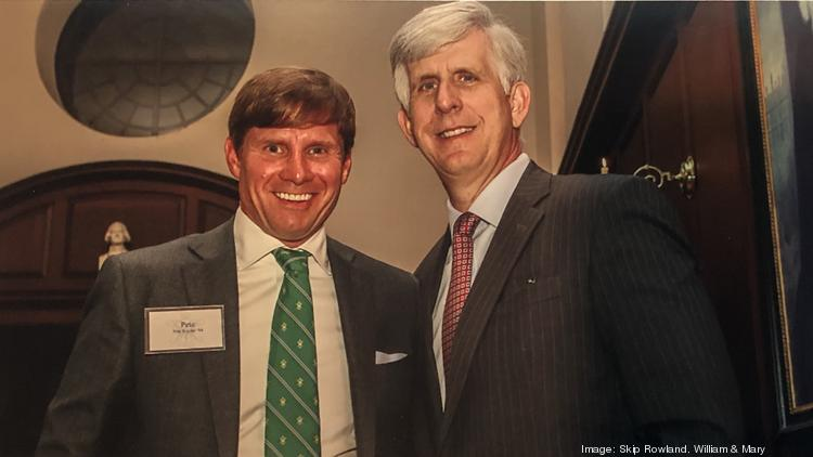 Pete Snyder, left, and Todd Stottlemyer — pictured at alma mater William & Mary — are raising money for the Virginia 30 Day Fund.