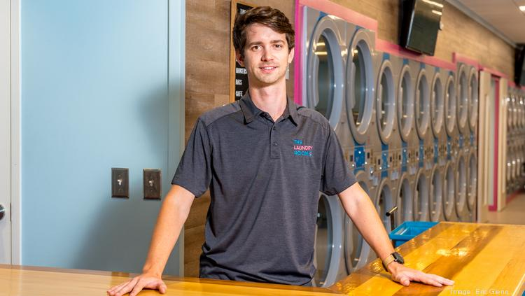 Alex Smereczniak, co-founder and CEO of 2ULaundry, is pictured at The Laundry Room.