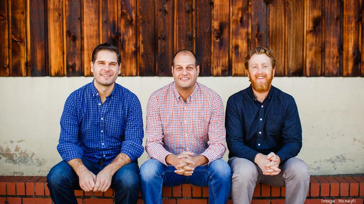 Honeyfi CEO Ramy Serageldin (center) is pictured with COO Joe Stanish (left) and CPO Sam Schultz.