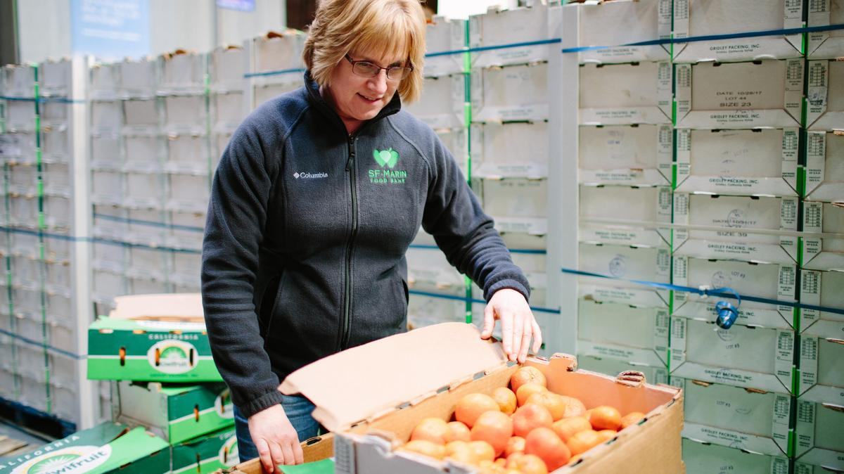 San Francisco-Marin Food Bank exec raced to secure ...