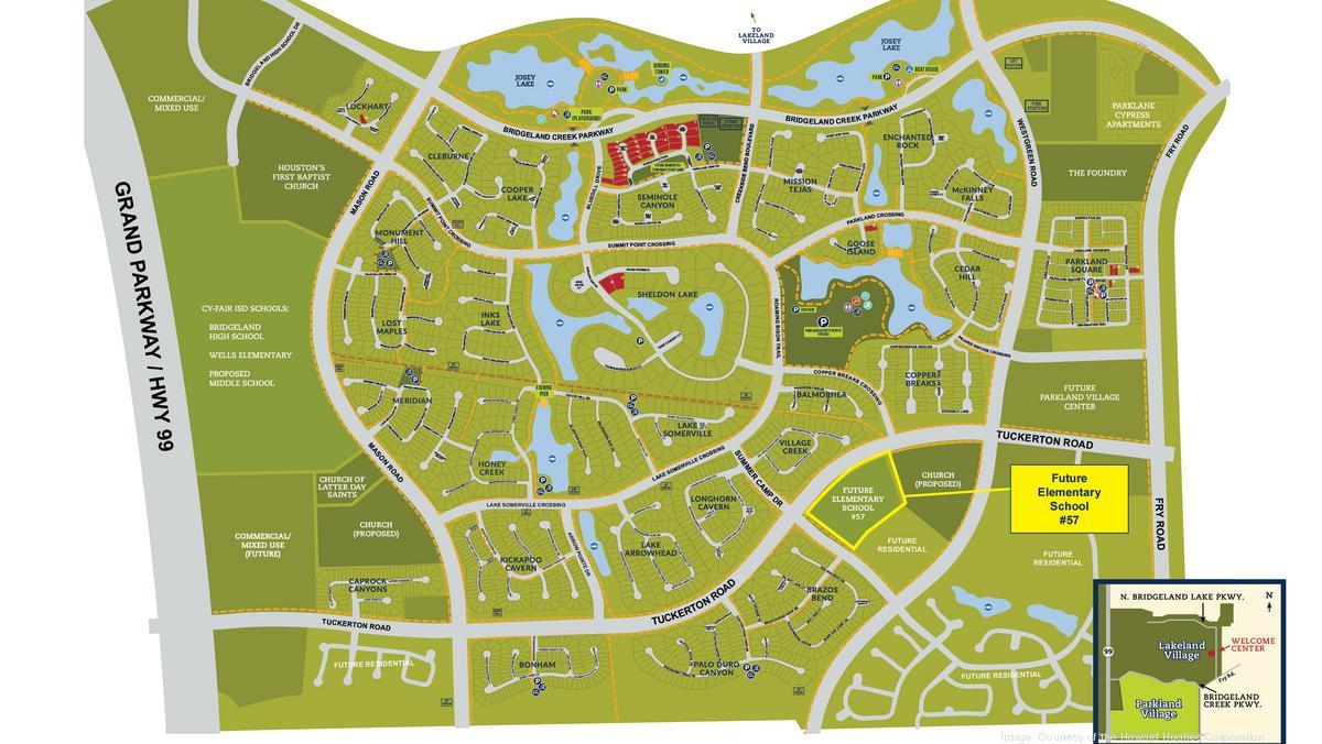 Cfisd Calendar 2022 2023.New Cy Fair Isd Elementary School Planned For Bridgeland Houston Business Journal
