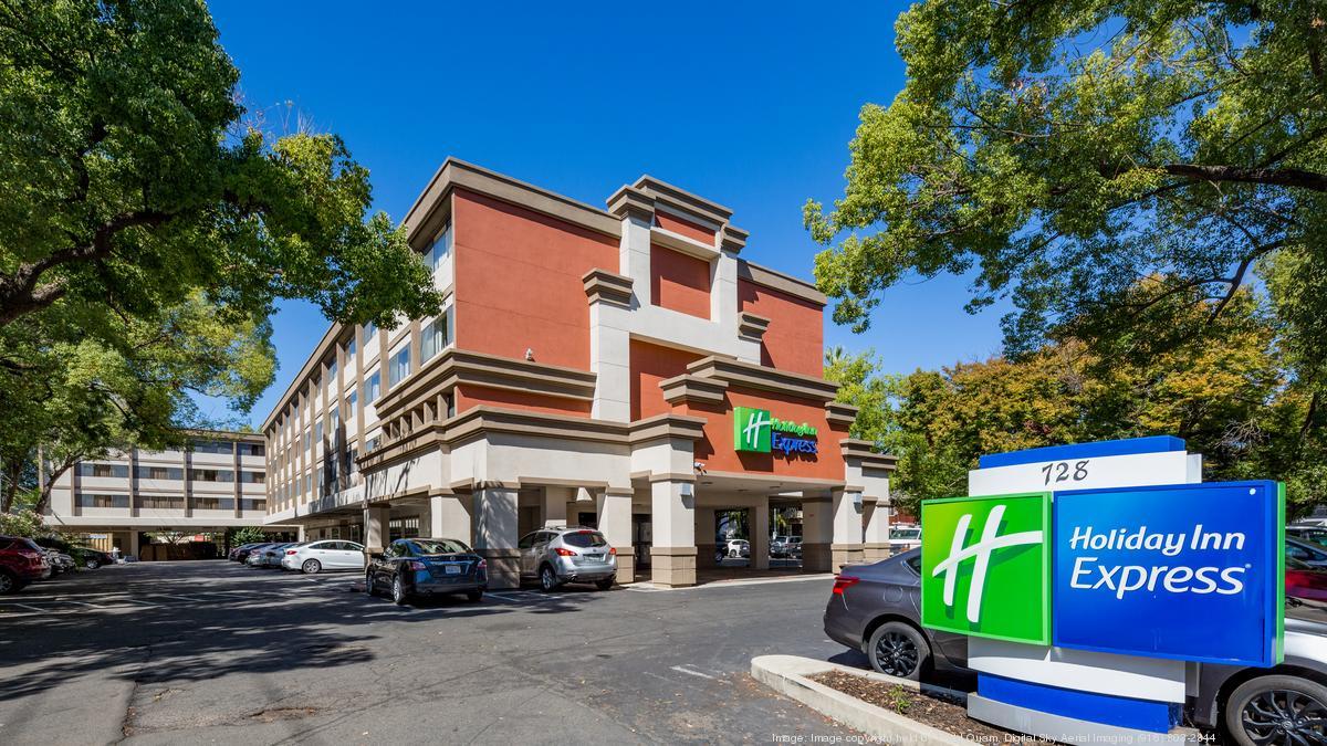 Holiday Inn Express marketed for redevelopment - Sacramento Business Journal