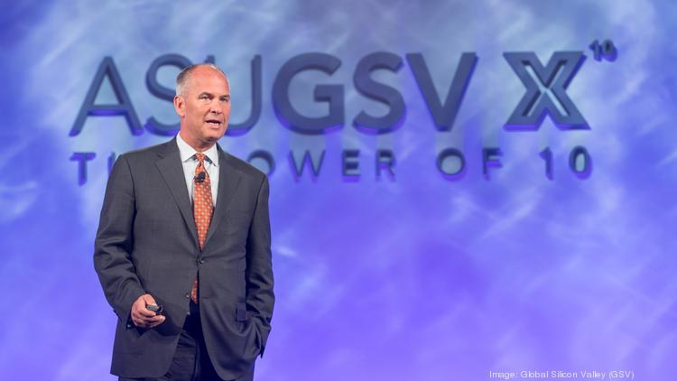 Silicon Valley investor Michael Moe, shown here at his annual ASU GSV education summit, has launched an online MBA program for startup founders.