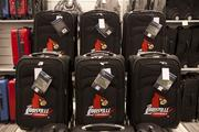 The new Nordstrom Rack will feature goods that are customized to the Louisville market such as these University of Louisville suitcases.