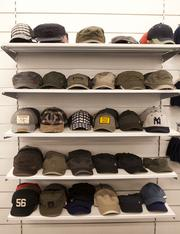 The new Nordstrom Rack will include a large selection of men's hats.