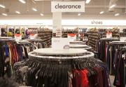 The new store will feature a large clearance section.