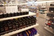 The new Nordstrom Rack includes a section with body care products.