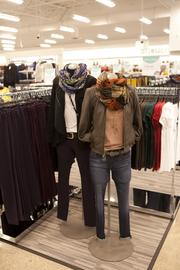 The store features an array of women's clothing styles.