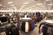The new Nordstrom Rack is filled in preparation for the opening.