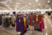 The women's clothing section takes a large percentage of the floor space.