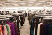 Inside the new Nordstrom Rack final preparations are made before the store's grand opening on Thursday.