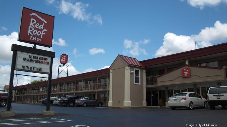 The Red Roof Inn in Moraine underwent significant renovation after new ownership.