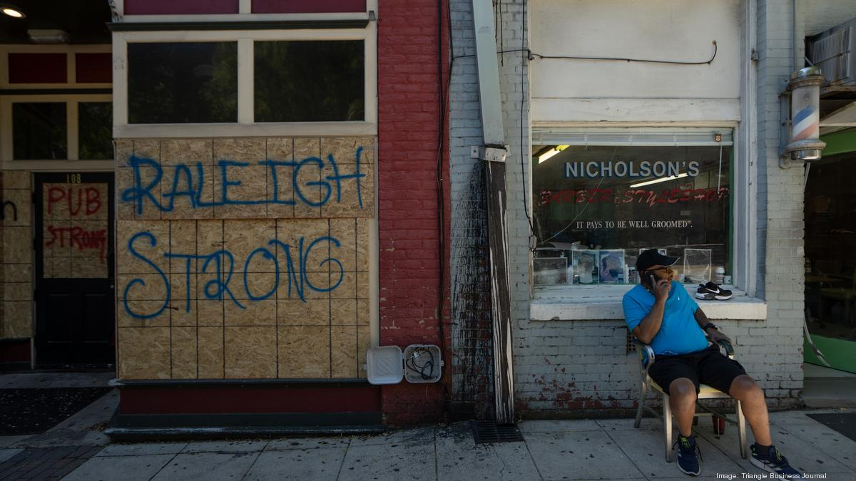 Downtown Raleigh Slow To Recover From George Floyd Riots