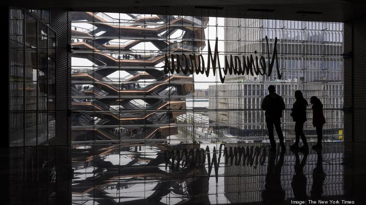 Mixed-use projects Neiman Marcus occupies three floors of Hudson Yards's new shopping complex in Manhattan, April 2, 2019. (Karsten Moran/The New York Times)