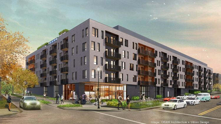 Beacon Hill Flats is a 249-unit apartment development at the corner of East 25th Street and Troost Avenue.
