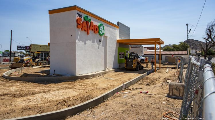 One of many Salad To Go restaurants opening in the Valley. This one is at 7th Street and Dunlap Avenue in Phoenix.
