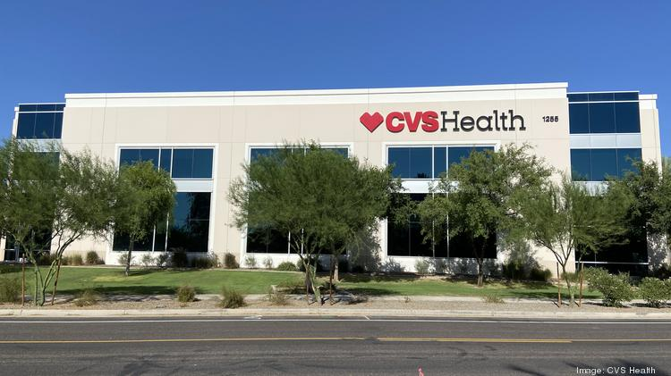 CVS Health is investing $10 million into tenant improvements in this West Valley building and will hire hundreds of employees to fill it.