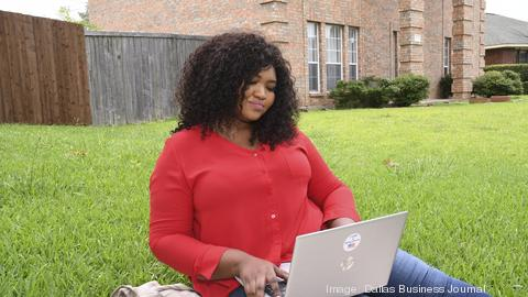 Mariama Sagna at her home in Rowlett.