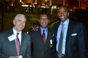 From left, Paul Hatchett of Marsh USA, Tom Graham of Pepco Holdings, and Greg O'Dell of Events DC.