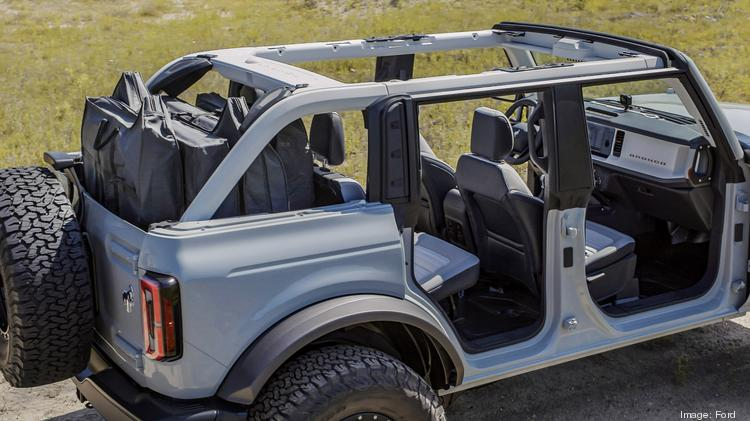 Ford Makes Big Bet On 2021 Bronco Family Of Suvs Atlanta Business Chronicle