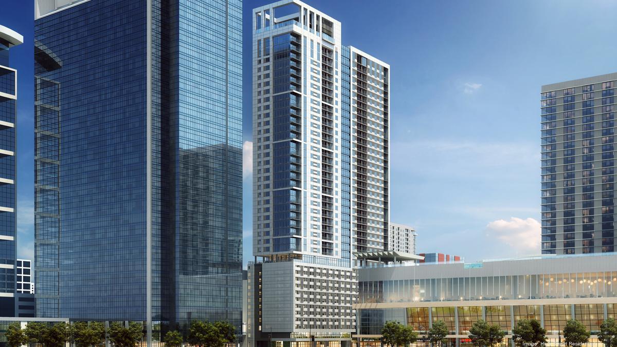 High Street Residential's Houston apartment tower breaks ground - Houston Business Journal