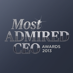 Who's the most admired CEO in banking and finance?