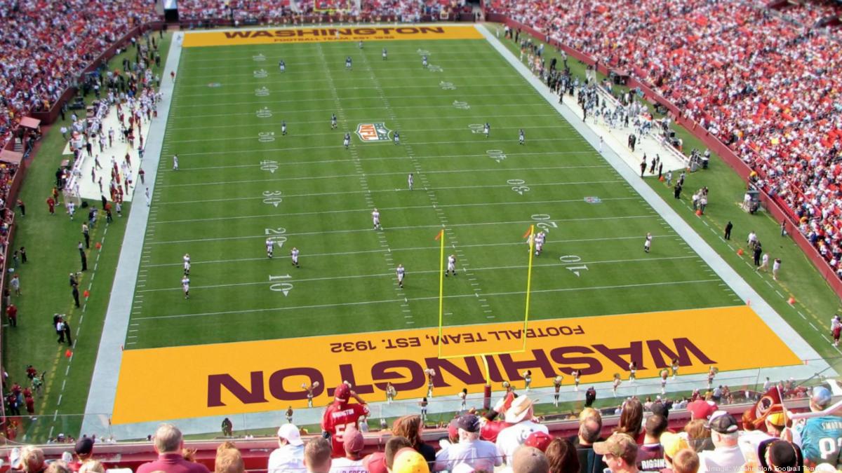 The Washington Football Team considering these new names - Washington Business Journal