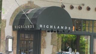 How often do you eat at the James Beard Award-winning Highlands Bar and Grill?