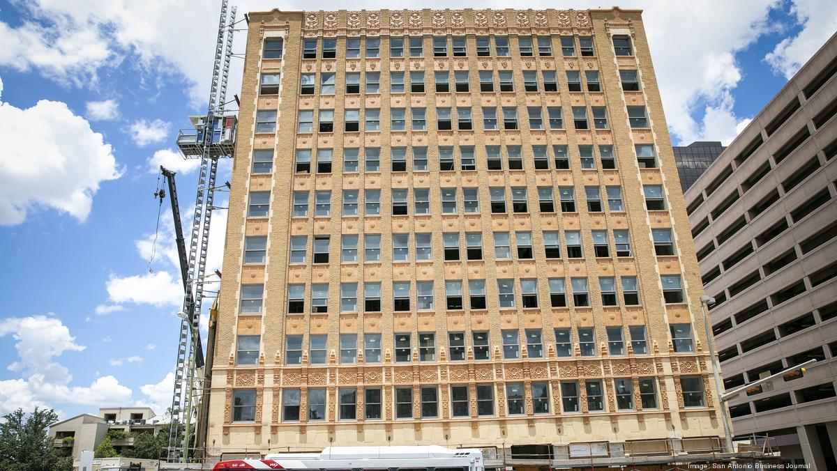Hedrick Building redevelopment nears completion - San Antonio Business Journal