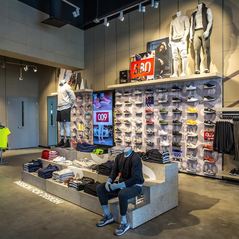 New Balance Opens Interactive Retail