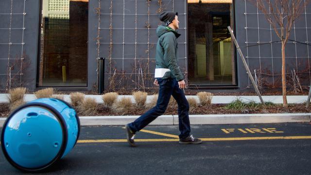 BostInno - Watch Piaggio's New Cargo Robot 'Gita' Roll About in Cambridge [Video]