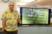 Jack Kay, AP biology and independent study instructor at Iolani School, says they have all the equipment in their new wet lab in the new Sullivan Center to do micro algae studies. Kay has been an instructor at Iolani for 51 years.