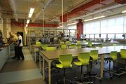 Iolani School's wet lab on the fourth floor of of the new Sullivan Center for Innovation and Leadership at Iolani School.