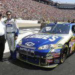 Jimmie Johnson tops list of NASCAR Sprint Cup drivers