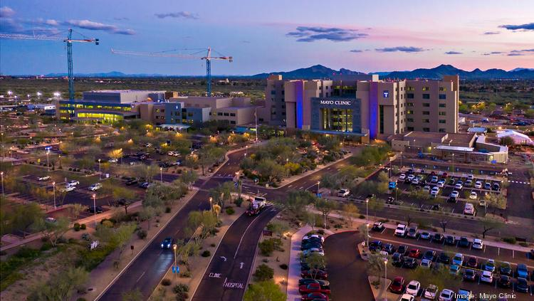 Mayo Clinic is in the midst of a $700 million expansion of its Phoenix hospital campus.