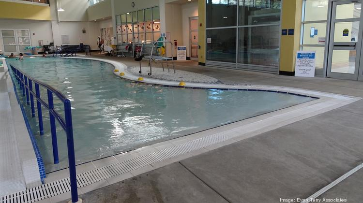 The pool at the Lakeshore Foundation