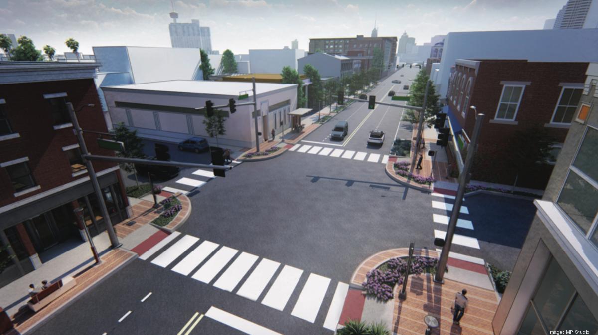 Work begins on $45M Broadway Street reconstruction downtown - San Antonio Business Journal
