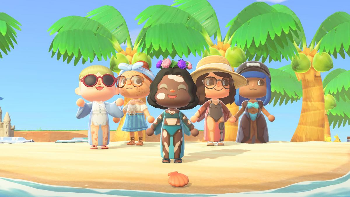 Venus pairs with Nintendo to create a skin-inclusive island in  wildly-popular Animal Crossing video game - Bizwomen