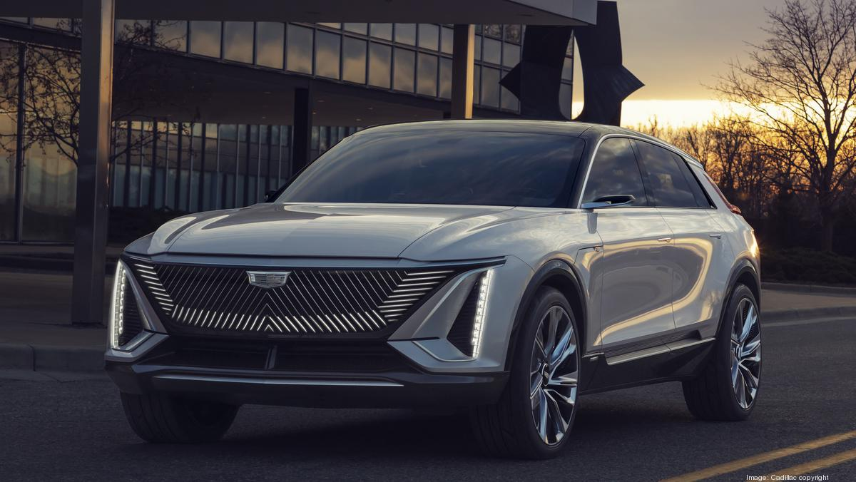 cadillac unveils new all-electric lyriq crossover vehicle