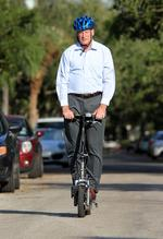 Scooter commute no sweat for Tampa lawyer