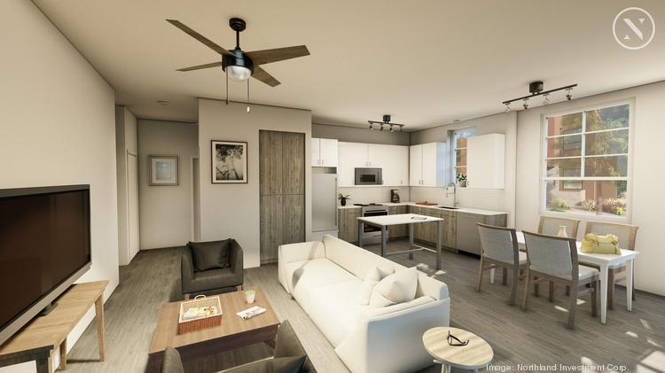 Altitude at Vizcaya has floor plans that range from 848 to 1,207 in square feet, which range from $1,499 to $1,585 in monthly rent. Other amenities include chef's kitchens, a washer and dryer and in every unit and two heated swimming pools on the property.