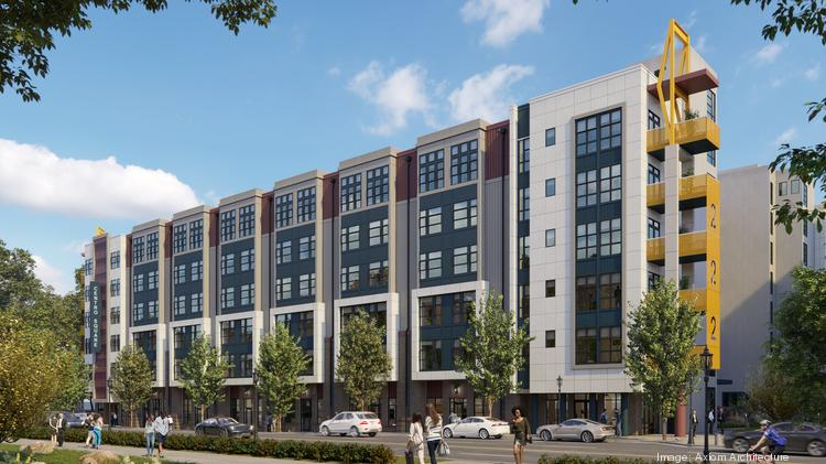 Centro Cityworks and Ascent Real Estate Capital will develop 132 apartments and 7,300 square feet of ground-floor retail space at 222 West Blvd.