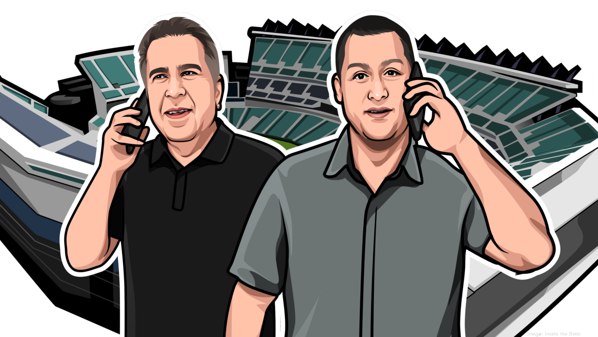 NBC Sports, ESPN vets Geoff Mosher and Adam Caplan try to make 'Inside the Birds' podcast fly - Philadelphia Business Journal