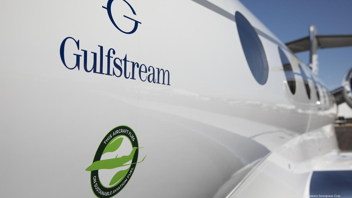 Gulfstream extends contract with World Fuel Services for sustainable aviation fuel - Atlanta Business Chronicle