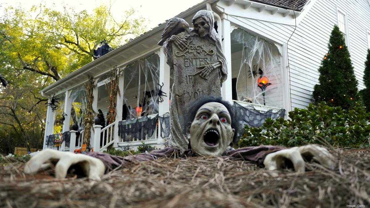 Halloween Decorated Houses 2020 More decor, fewer trick or treaters: Here's what to expect from
